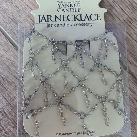 Yankee Candle jar necklace accessory